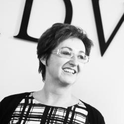 Secretaresse Annemarie Wissink